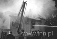 Pożar kościółka pw. Zmartwychwstania Pańskiego w 1995 r.