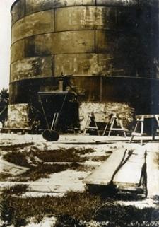 Budowa zbiornika wieży ciśnień przy Alejach Racławickich