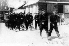 Ćwiczenia strażackie w Kurowie
