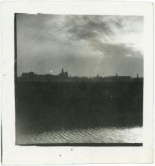 Panorama Lublina z perspektywy wody