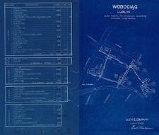 Plan wodociągu na ulicy Ruskiej, świętego Mikołaja, Targowej, Nadstawnej