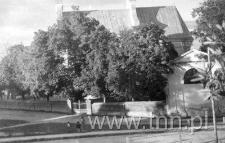 Widok z mieszkania pp. Joszt na dzwonnicę kościoła św. Michała Archanioła