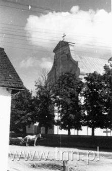 Widok kościoła św. Michała Archanioła od strony Spółdzielni