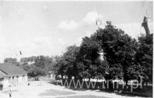 Widok z mieszkania pp. Joszt na kościół św. Michała Archanioła