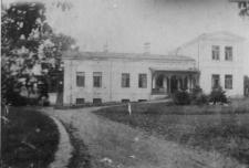 Pałacyk rządcy majątku Wojsławice. Wygląd sprzed 1944 roku