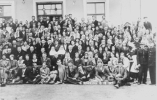 Pielgrzymka parafii Wojsławice do Częstochowy w 1936 roku