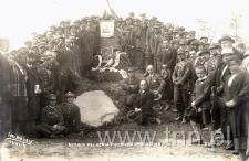 Uroczystość rocznicy śmierci płk. Berka Joselewicza 14maja 1933r. w Kocku