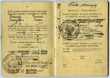 Waks Maurycy - paszport