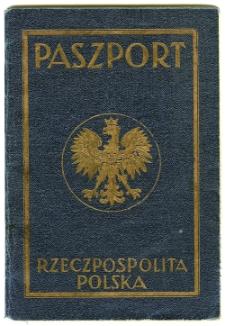 Waks Abram Mojżesz - paszport, 1938