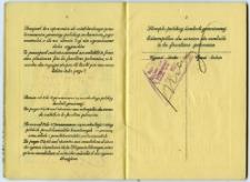 Waks Abram Mojżesz - passport, 1938
