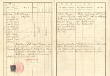 Waks Abram Mojżesz - copy of the birth certificate