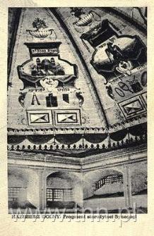 Kazimierz Dolny. Fragment starożytnej Synagogi