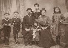 Flichtenreich Family, 1906, Antwerp