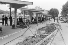 Remont nawierzchni na dworcu PKS w Lublinie