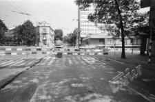 Skrzyżowanie ulic Narutowicza, Lipowej i al. Józefa Piłsudskiego w Lublinie