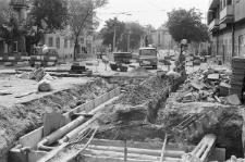 Prace remontowe na ulicy Narutowicza w Lublinie