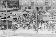Targowisko na Nowym Placu Targowym w Lublinie