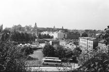 Panorama Lublina ze Wzgórza Czwartek w kierunku Starego Miasta