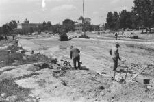 Remont drogi na Podzamczu w Lublinie