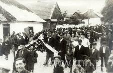 Pogrzeb Edmunda Chaberskiego w Kocku w czerwcu 1938 r.