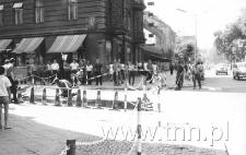 Krakowskie Przedmieście, róg ulicy Chopina