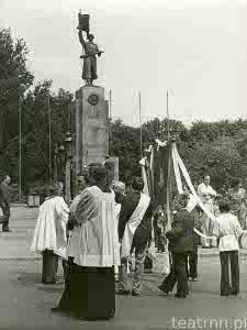 Procesja Bożego Ciała na Placu Litewskim w Lublinie