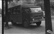 Lublin. Transport zastępczy w czasie strajków w lipcu 1980 roku
