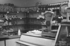 Lublin. Sklep spożywczy w lipcu w 1980 roku