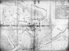 Plan de la Ville et Fauxbourgs de Lublin (1716 r.)