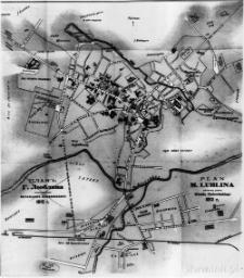 Plan miasta Lublina (1912 r.)