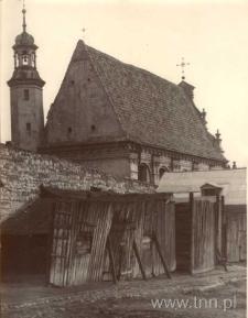 Kościół karmelitów bosych, widok od wschodu