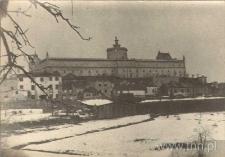 Widok dzielnicy żydowskiej z Placu po Farze