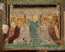 Freski Kaplicy Zamkowej - komunia Apostołów