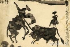 kartka od Tytusa Dzieduszyckiego do Jana Ziemskiego