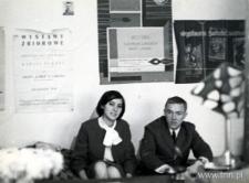 Danuta Ziemska i Włodzimierz Borowski w swoim mieszkaniu w Lublinie