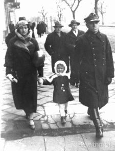 Jasia Liszykówna z rodzicami