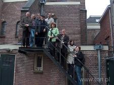 """Uczestnicy projektu """"Życie Żydów w Europie"""" podczas seminarium roboczego w Groningen"""