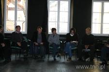 Uczestnicy seminarium podczas spotkania otwierającego