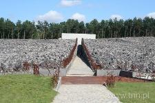 Teren byłego obozu zagłady w Bełżcu