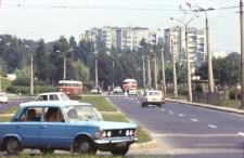 Ulica Głęboka w Lublinie (al. PKWN)