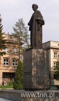 Pomnik M. Skłodowskiej - Curie