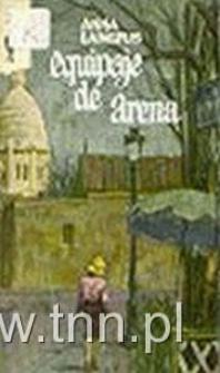 """okładka hiszpańskiego wydania """"Les bagages de sable"""" (bagaży z piasku)"""