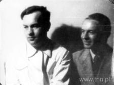 Józef Czechowicz z Zenonem Bieńkowskim