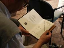 Prezentacja książki Z. Milczarka w Teatrze NN 27.06.2005