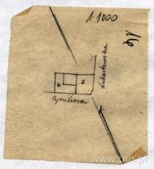 Plan domu przy ul. Cyruliczej 1/ Lubartowskiej 7 (obecnie 33)