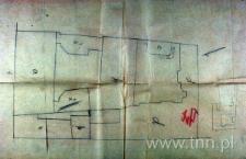 Plan domu przy ul. Cyruliczej 4 (obecnie 4,6) / Furmańskiej 10