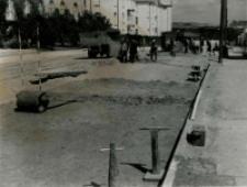 Przebudowa ulicy Spokojnej w Lublinie - wykop pod koryto