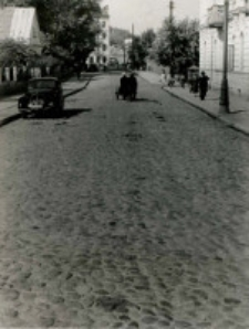 Przebudowa ulicy Pierackiego- przed budową