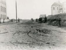 Budowa ulicy Orlicz-Dreszera - przed budową