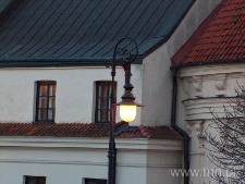 Ostatnia latarnia miasta żydowskiego na ulicy Podwale